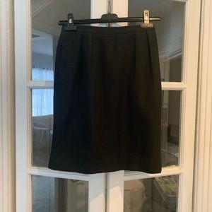 Christian Dior tricots et coordonnes black skirt.
